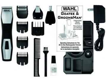 Wahl GroomsMan Pro Rechargeable Grooming Kit 9855-1216 Black