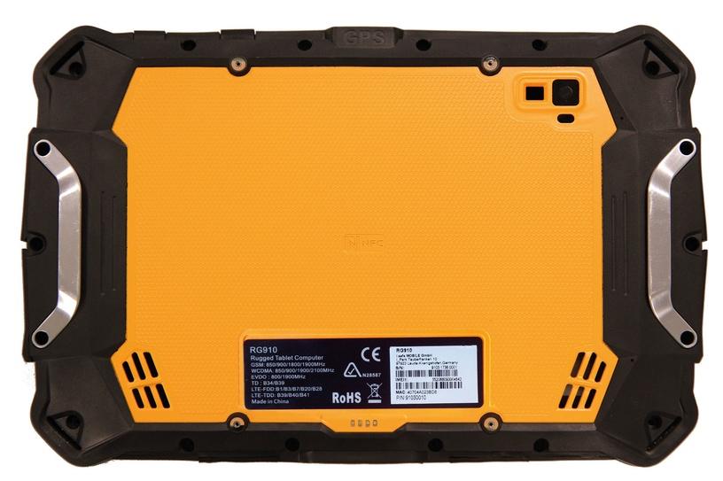 Planšetinis kompiuteris RugGear RG910 LTE 3/32GB Black/Yellow