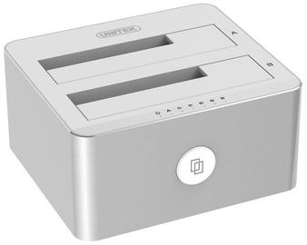 "Unitek Dual Bay Aluminium Docking Station USB 3.0 To SATA 2.5""/3.5"""