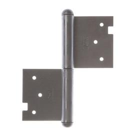 Įleidžiamasis durų lankstas 120 mm, kairysis