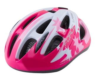 Шлем Force Lark F902210, белый/розовый, S, 480 - 540 мм