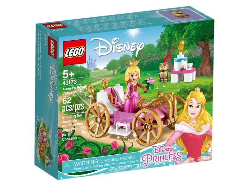 Конструктор LEGO Disney Princess Королевская карета Авроры 43173, 62 шт.