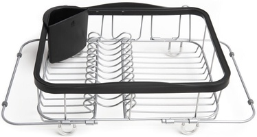Umbra Sinkin Multi Use Dish Rack Black