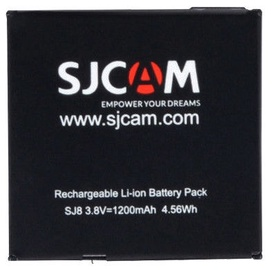 SJCam Original Battery For Action Camera SJ8 Air/Plus/Pro 1200mAh Li-Ion OEM