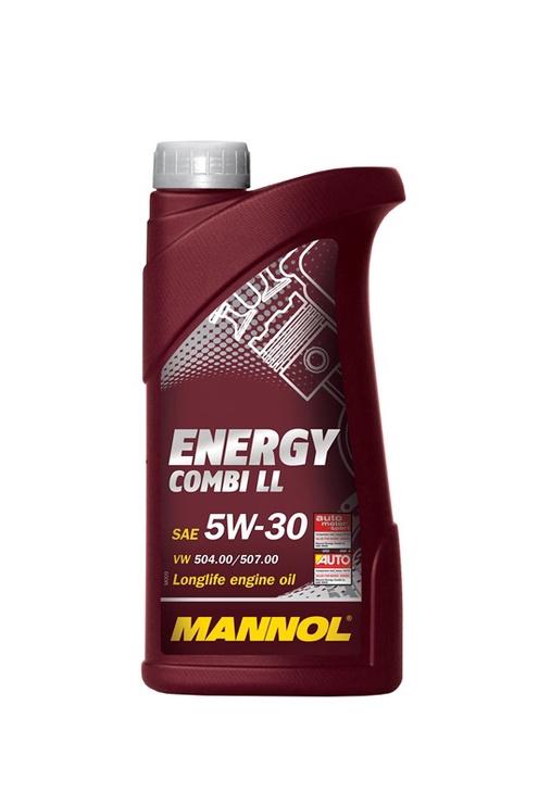 MOTOREĻĻA MANNOL ENERG COM LL 5W-30 1L