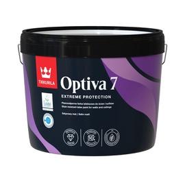 Эмульсионная краска Tikkurila Optiva Satin Matt 7 BA 9l White