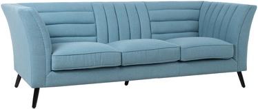 Диван Home4you Piano Blue, 222 x 87 x 77 см