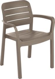 Keter Tisara Garden Chair Cappucino