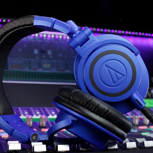 Audio-Technica ATH-M50x Professional Monitor Headphones Blue