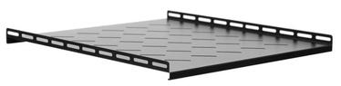 Riiul Netrack Equipment Shelf 19'' 1U/500mm Black