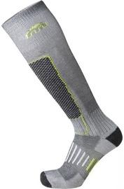 Mico Basic Ski Sock IN PP Grey/Green 35-37