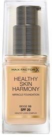 Max Factor Healthy Skin Harmony Miracle Foundation SPF20 30ml 55
