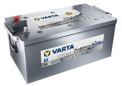 Аккумулятор Varta ProMotive AGM Silver A1, 12 В, 210 Ач, 1200 а