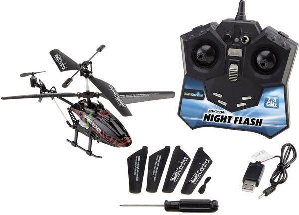 Žaislinis sraigtasparnis Revell RC Technik Night Flash
