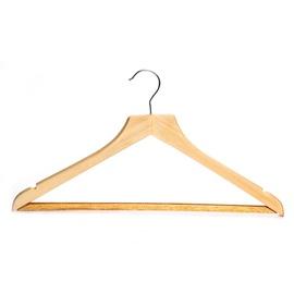 Medinė drabužių pakaba
