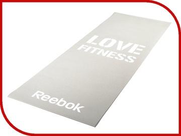 Vingrošanas matracis Reebok Grey, balta/pelēka, 61 cm x 10 cm x 4 mm