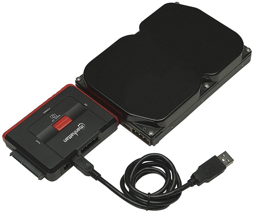 Manhattan Hi-Speed USB 2.0 To SATA/IDE Converter