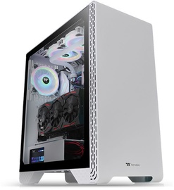 Thermaltake S300 Snow Edition Tempered Glass ATX Mid-Tower