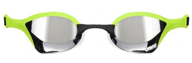 Cobra Ultra Mirror.Arena Cobra Ultra Mirror Goggles Silver Green