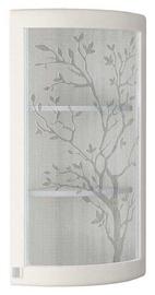 DaVita Grafit 74.16 Kitchen Upper Corner Cabinet White