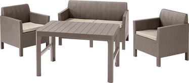 Комплект уличной мебели Keter Orlando Beige, 4 места