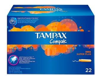 Tampax Compak Superplus Tampons 22pcs
