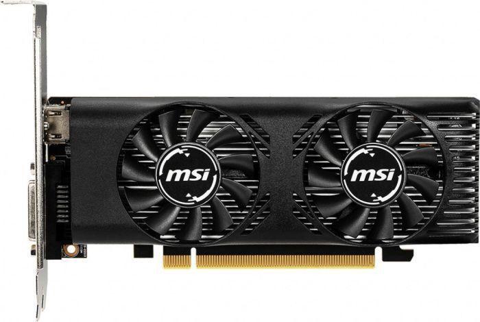 MSI GeForce GTX 1650 GT LP 4GB GDDR5 PCIE GEFORCEGTX16504GTLP