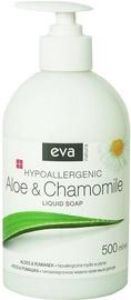 Šķidrās ziepes Eva Natura Hypoallergenic Aloe & Chamomile, 500 ml