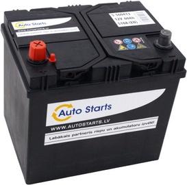 Аккумулятор Auto Starts, 12 В, 60 Ач, 510 а