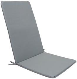 Подушка для стула Home4you Ohio, серый, 120x50 см