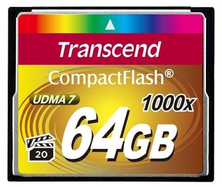Transcend 64GB Compact Flash Ultimate 1000x