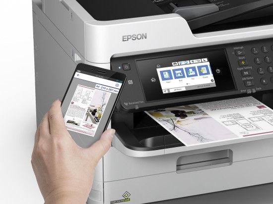 Tindiprinter Epson WF-C5790DWF, värviline