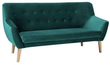 Signal Meble Nordic Sofa 3 Velvet Bluvel 78 Green