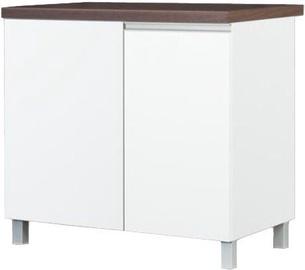 Alumine köögikapp Bodzio Corner Sandi White, 900x520x860 mm