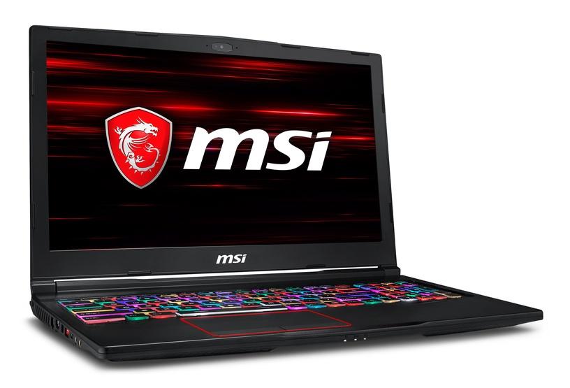 Nešiojamas kompiuteris MSI GE63 8RE-400PL Raider RGB