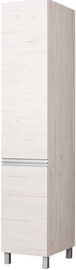 Bodzio Right Door Wardrobe Monia 40cm Pearl Soma Oak
