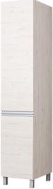 Skapis Bodzio Monia Right Door Pearl Soma Oak, 40x60x207 cm