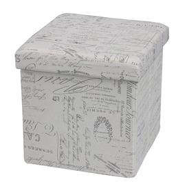 Пуф Halmar Moly Retro, 38x38x38 см