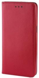 Mocco Smart Magnet Book Case For LG K10 2018 Red