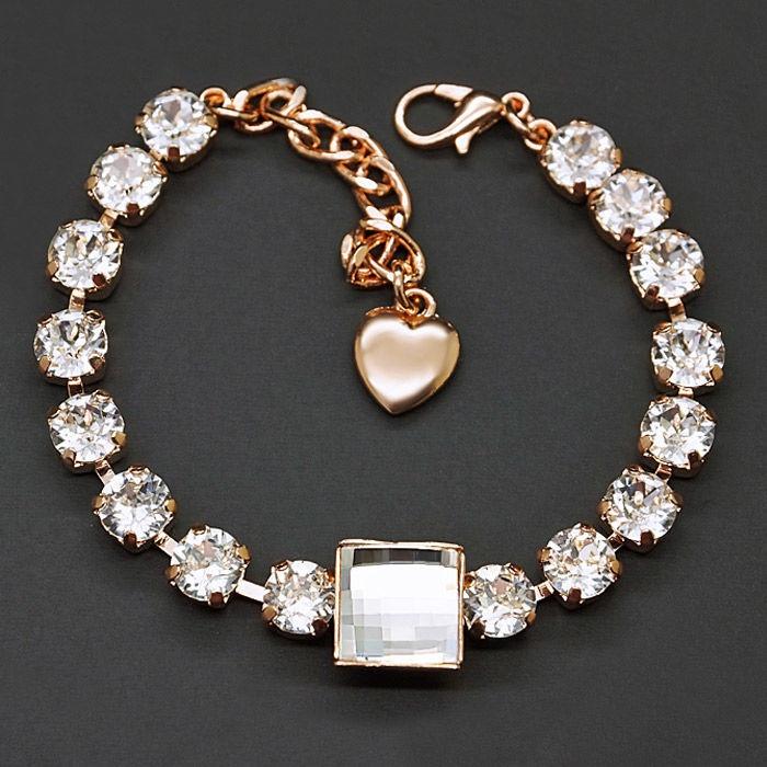 Diamond Sky Bracelet Carmen With Swarovski Crystals DS00B314