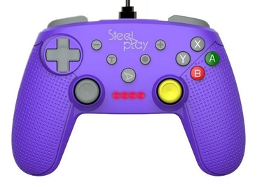 Steel Play Wired Controller Purple