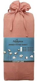 Palags Ardenza Jersey Pink, 90x200 cm, ar gumiju