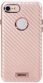 Remax Carbon Surface Desig Back Case For Apple iPhone 7 Rose Gold