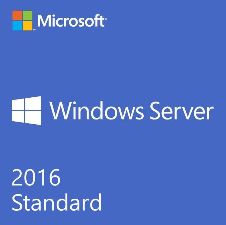 Microsoft Windows Server 2016 Standard License OEM 4-Core