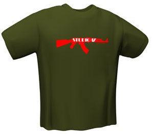 Футболка GamersWear Studio 47 T-Shirt Olive (XL)
