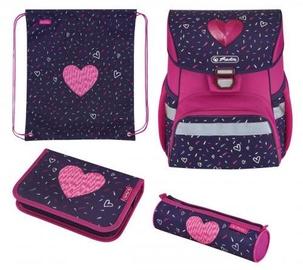 Herlitz Loop Plus Hearts Blue/Pink
