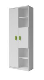 Idzczak Meble Smyk 10 Shelf White/Green