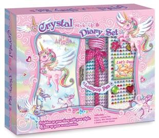 Pulio Pecoware Crystal Style Up Diary Set 191NUC Unicorn