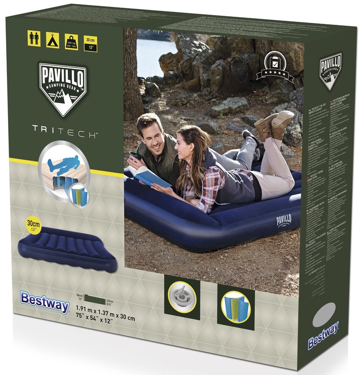 Bestway Pavillo Tritech Airbed Full Blue 67681