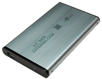 """Logilink UA0041B 2.5"""" HDD Enclosure Silver"""